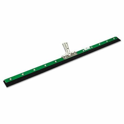 Unger Aquadozer Heavy Duty Floor Squeegee, 36 Inch Blade, Green/Black Rubber, St