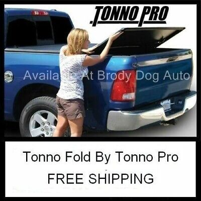 2002-18 DODGE RAM 1500 Long 8FT TRI-FOLD Tonneau Bed Cover Tonno Pro 42-204