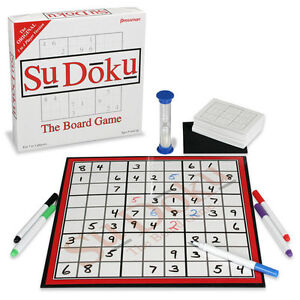 Sudoku - The (Wipe Off) Board Game, New Condition!
