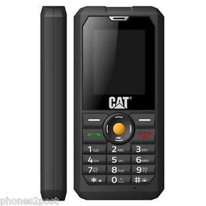 NEW CAT B30 3G TOUGH IP67 SOLID BUILDERS DUAL SIM FREE UNLOCKED MOBILE PHONE