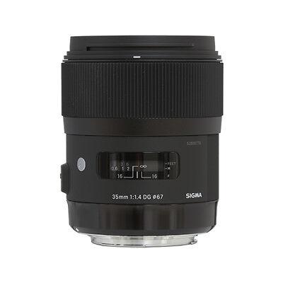 Sigma 35mm f/1.4 DG HSM Art Lens for Nikon DSLR Cameras comprar usado  Enviando para Brazil