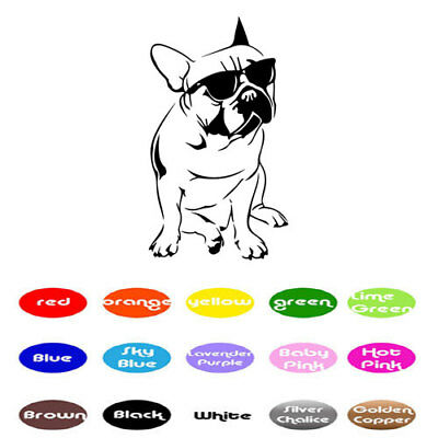 French Bulldog Door - French Bulldog vinyl decal sticker for home window wall door decor car laptop