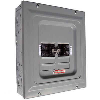 Indoor Transfer Panel - Generac 6333 - 60-Amp Single Load Indoor Manual Transfer Panel