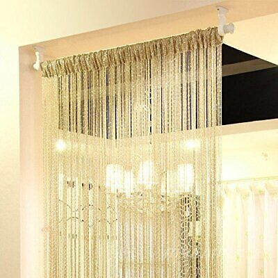 String Door Curtain For Doorways Design Window Panel Living Room Bedroom Divider](Curtains For Door)