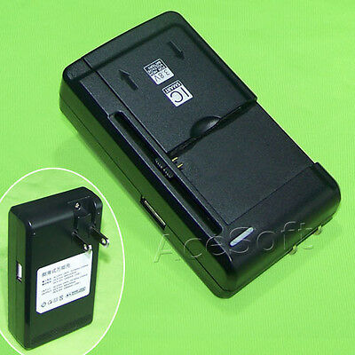 Universal Battery Travel Wall Charger For Kyocera DuraXT E4255 E4277 Sprint/Ting