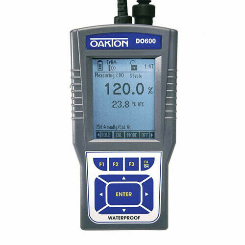 Oakton WD-35441-02 DO 600 Dissolved Oxygen/Temperature Meter