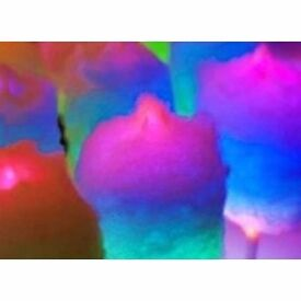 Candy floss sticks light up 28cm x 1.75cm 1 x 50__buy from htsweets , made in italian, best quality