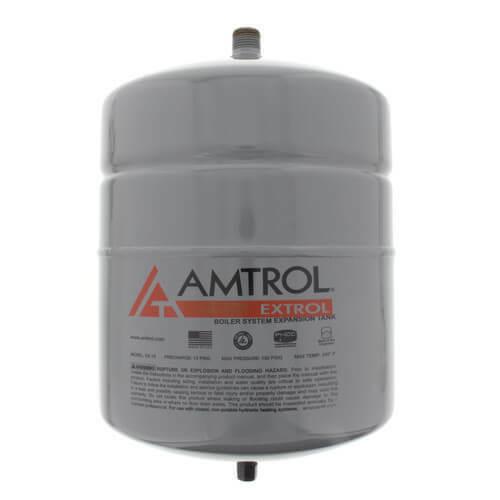 (1) Amtrol Extrol EX-15 Boiler Expansion Tank, 2.0 Gallon Volume, #101-1