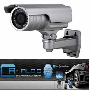 Profi Überwachungskamera Videoüberwachung Sony CCD Zoom