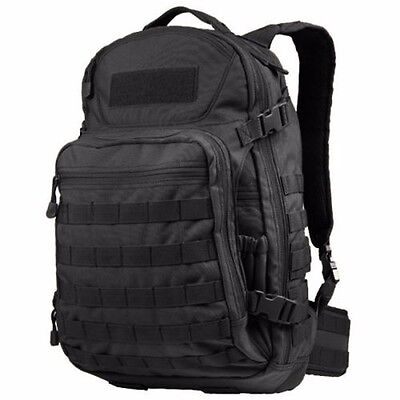 Condor 160 BLK Venture Pack Tactical MOLLE Hiking Camping Patrol Laptop Backpack