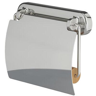 IKEA VOXNAN Toilettenpapierhalter WC Klopapierhalterung Chromeffekt
