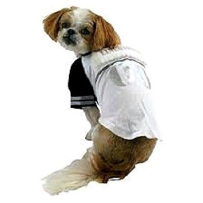 NWT FOOTBALL Pet Halloween Costume LINE BARKER Tee XS up to 10 lbs Maltese