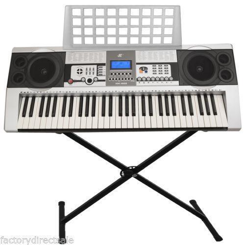 keyboard music stand ebay. Black Bedroom Furniture Sets. Home Design Ideas
