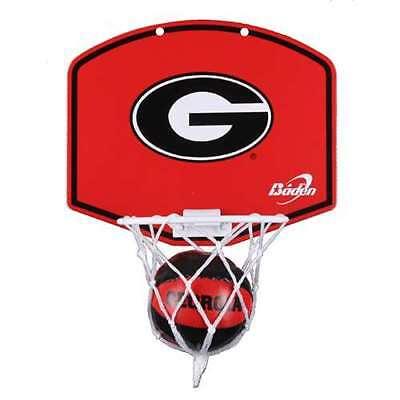 Georgia Bulldogs Hoop - Georgia Bulldogs Mini Basketball And Hoop Set