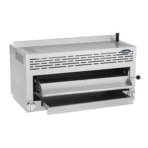 "Atosa Atsb-36 Cookrite 36"" Gas Salamander Broiler W/ (2) Infrared Burners"