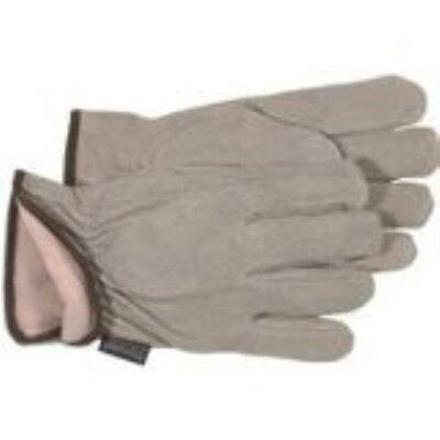 Boss Gloves 7179l Boss Therm Insulated Split Cowhide Leather Driver Large