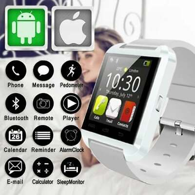 White U8s Smart Watch with Bluetooth Touch Screen TFT LCD for Android Cellphones comprar usado  Enviando para Brazil