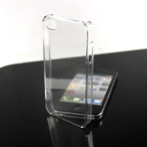 New Crystal Clear Transparent Ultra Thin Hard Case Cover for iPhone 4 4G 4S 4GS