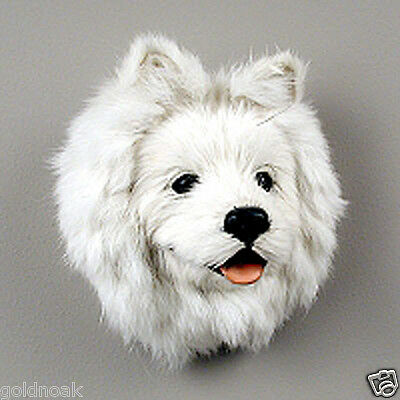 (1) AMERICAN ESKIMO DOG MAGNET! PERFECT GIFTS! NEED FUNDS FOR OUR ANIMAL RESCUE.