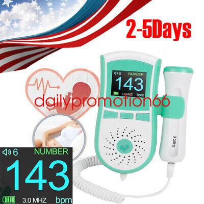 Popular Handheld Pocket Ultrasound Fetal Doppler Prenatal Heart Beat Monitor Fda