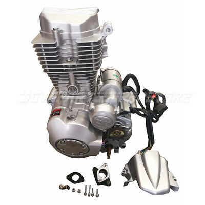 ATVs Engine Motor with Manual Transmission w/Reverse for 200cc 250cc Vertical