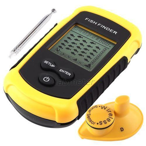 Wireless portable fish finder ebay for Used fish finders on ebay