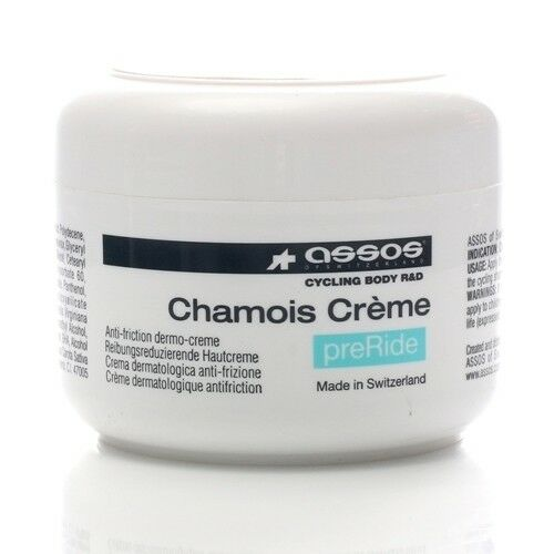 ASSOS BIKE CYCLING ANTI CHAFE FRICTION ANTI BACTERIAL CHAMOIS CREME CREAM