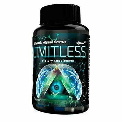 Limitless Pills 20ct Atomixx Capsules Bottle Mood/ Focus /Anti-anxiety Stress