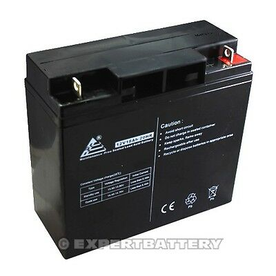 12V 18Ah Sealed Lead Acid Scooter Battery D5745 40648 WP18-12 6FM18 on Rummage