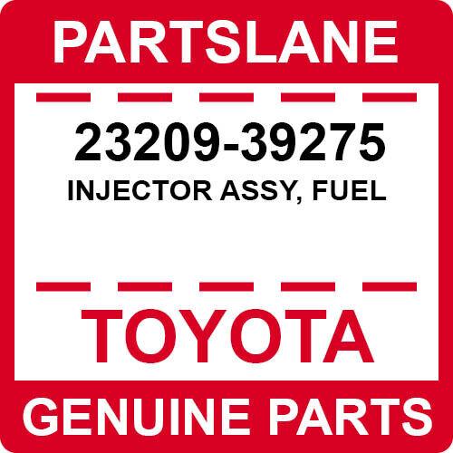 23209-39275 Toyota Oem Genuine Injector Assy, Fuel
