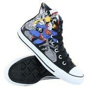 Black Hi Top Converse