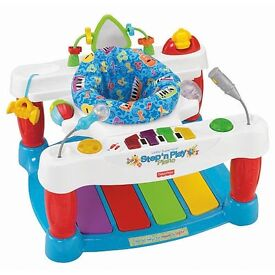 Step and play piano walker for sale