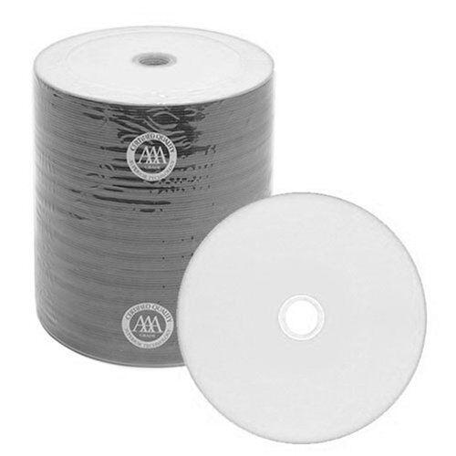 600 TAIYO YUDEN TY CD-R,WHITE INKJET NON-HUB PRINTABLE