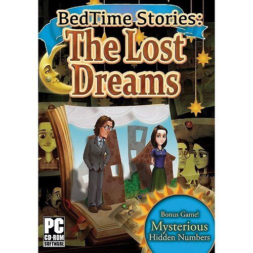 Computer Games - Bedtime Stories The Lost Dreams PC Games Window 10 8 7 XP Computer hidden object