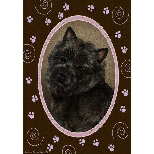 Paws House Flag - Black Cairn Terrier 17327