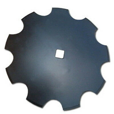 Universal Fit 18 Notched Disc Blade 3mm X 1 Square Axle Hole