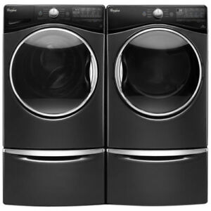 Whirlpool WFW92HEFBD 5.2 Cu Ft. and Dryer