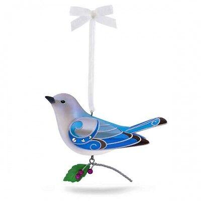 Lady Mountain Bluebird The Beauty of Birds 2017 Hallmark Ornament LE  In Stock