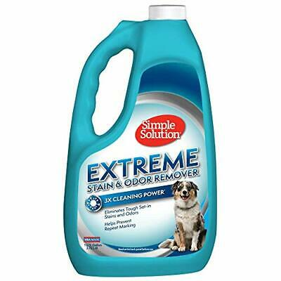 Simple Solution Extreme Pet Stain and Odor Remover | Enzymatic Cleaner- 3X Power