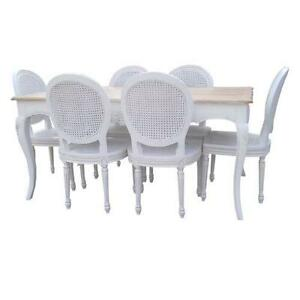 White French Dining Table