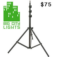 Brand NEW! Heavy duty lights stands (black)