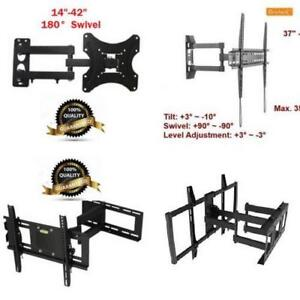 Weekly Promo!  Tilt and Swivel   TV Wall Mount ,  Tilt and Swivel   TV Mounting bracket start from$24.