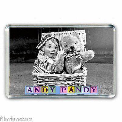 RETRO  TV  NOSTALGIA  ' ANDY PANDY'  JUMBO Fridge Magnet