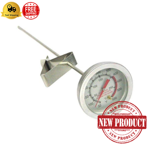 Deep Fry Thermometer 5 in. Hot Oil Cooking Turkey Fryer Fryi