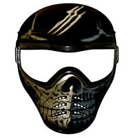 Paintball Mask -  Full Face Tactical Mask - Scar Phace *CHEAP*
