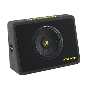 Kicker Comps 10in Slim Loaded Automotive Subwoofer -New in box