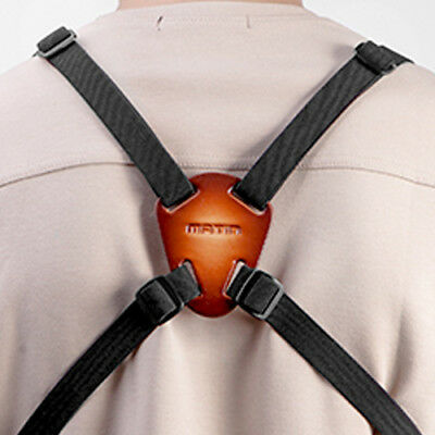 Matin Leather/Nylon Binoculars Harness Bino Rangefinder Strap Belt Quick Release