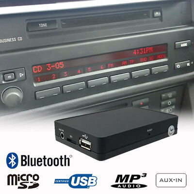 Bluetooth Music Handsfree CD Changer Adapter BMW E39 E83 E53 E85 Business CD, used for sale  Shipping to Canada