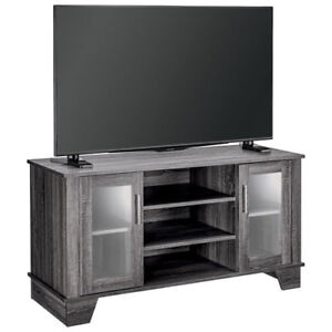 """Insignia TV Stand for TVs Up To 55"""" - Grey New in Box"""