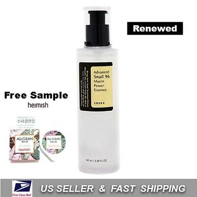[ COSRX ] Advanced Snail 96 Mucin Power Essence 100ml +Free Sample+